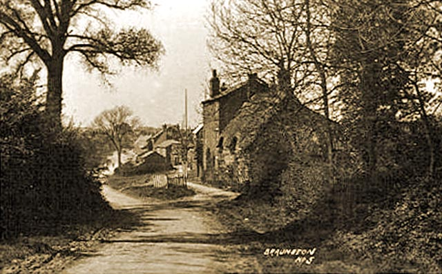 Image of Braunston village