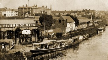 Postcard of old Stourport