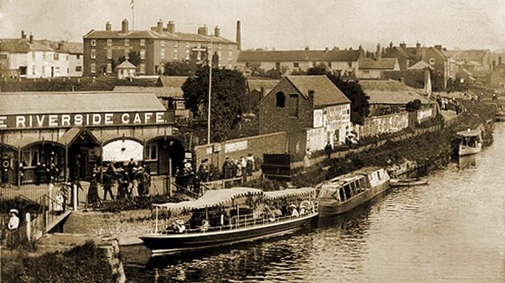 Postcard of old Stourport