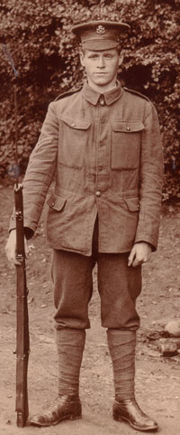 Photo of Corporal Isaac Leonard Williams